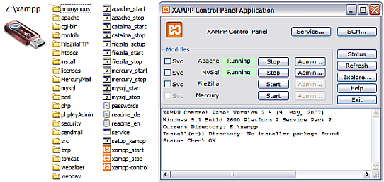 xampp web server 3