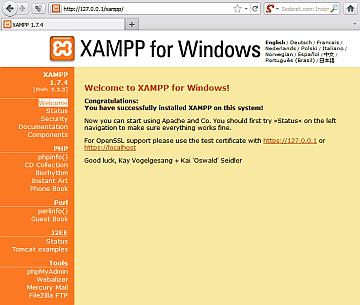 xampp web site 4