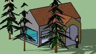 Belajar Google SketchUp 8 Simple House