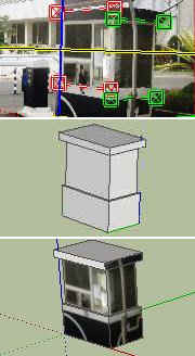 model 3d dengan tekstur foto 2