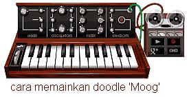cara memainkan doodle moog