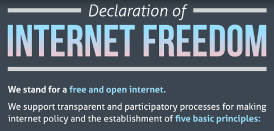Declaration of Internet Freedom