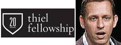 Thiel Fellowship Peter Thiel