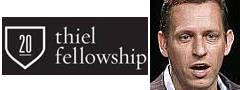 Thiel Fellowship Peter Thiel