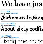 font besar untuk judul atau heading