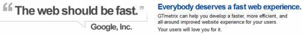 The web should be fast kata Google
