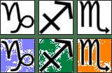 zodiak scorpio-sagita-capri