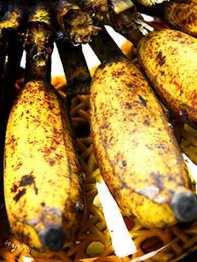 pisang di piring