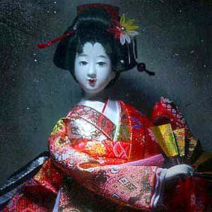 Boneka Jepang Geisha