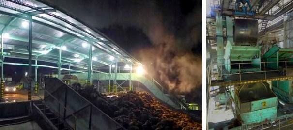 Industri sawit beroperasi siang malam